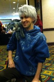 Jack Frost from Rise of the Guardians worn by Fireshark