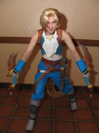 Zidane Tribal from Final Fantasy IX worn by Fireshark