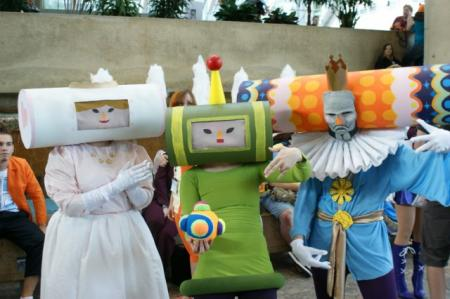 Prince of the Cosmos from Katamari Damacy worn by Kasai