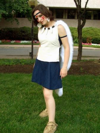 San from Princess Mononoke worn by Kasai