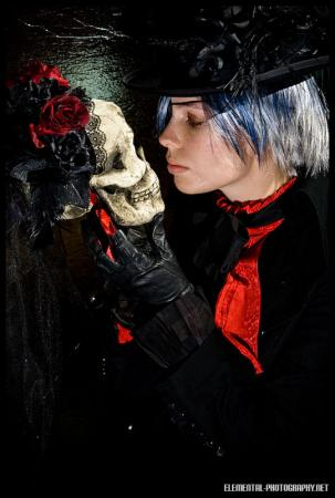Ciel Phantomhive from Black Butler worn by Shinteetah