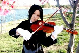 Sebastian Michaelis from Black Butler worn by Mikarin