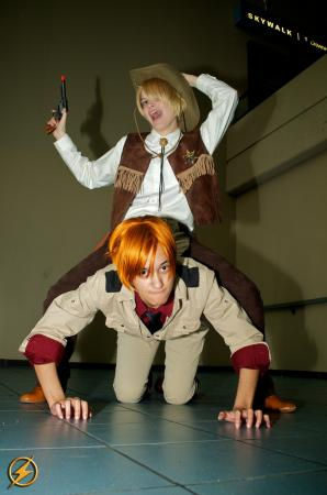 America / Alfred F. Jones from Axis Powers Hetalia worn by Masterofveggies
