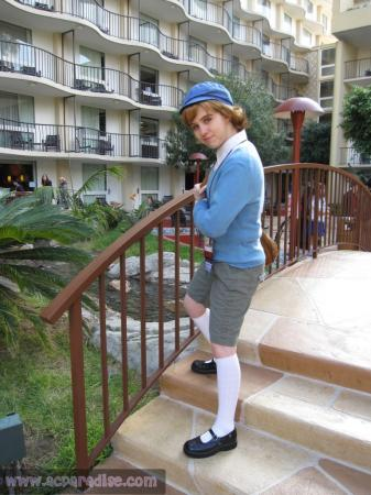 Luke from Professor Layton worn by Serey-chan