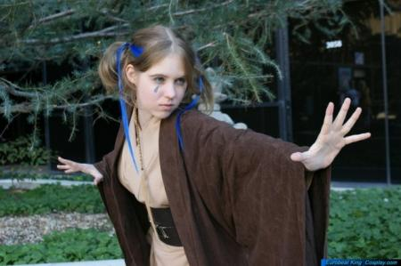 Jedi from Star Wars worn by Serey-chan
