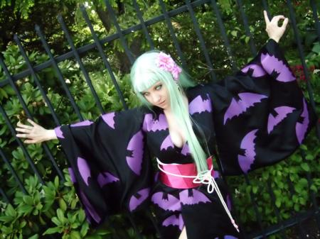 Morrigan Aensland from Cross Edge worn by Itchy Tasty Gal