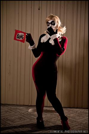 Harley Quinn / Dr. Harleen Francis Quinzel  	 from Batman worn by Itchy Tasty Gal