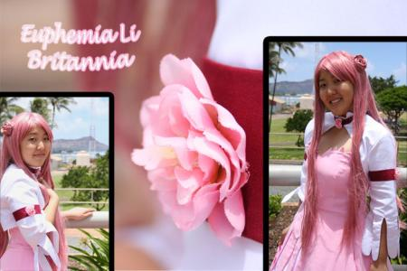 Euphemia Li Britannia from Code Geass worn by Buunbuun