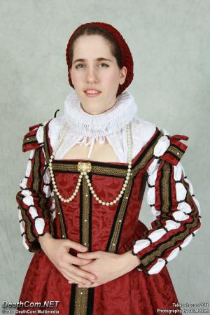 Elizabethan Gown from Original Design worn by Elycium