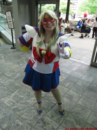Sailor V from Codename: Sailor V worn by Lunaladyoflight