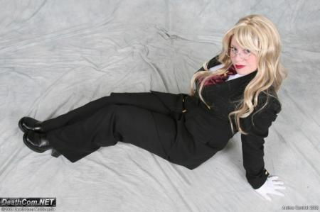 Sir Integra Fairbrook Wingates Hellsing from Hellsing worn by Lunaladyoflight
