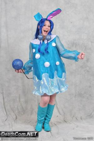 Azumarill from Pokemon worn by Lunaladyoflight
