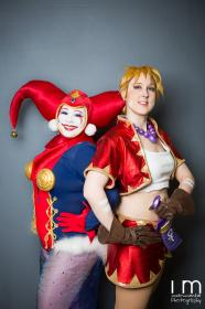 Harlequin from Chrono Cross worn by Lunaladyoflight