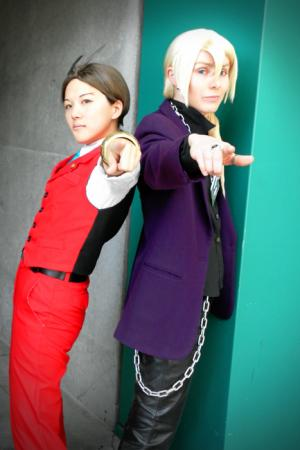 Apollo Justice from Apollo Justice: Ace Attorney worn by Linefaced