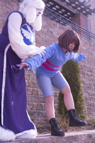 Frisk from Undertale worn by Linefaced
