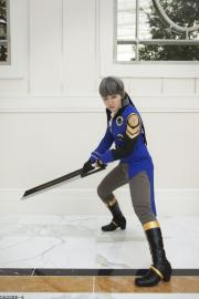 Protagonist from Persona 4 worn by Linefaced