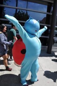 Catbug from Bravest Warriors worn by nellikins