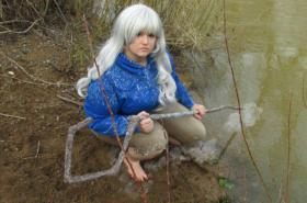 Jack Frost from Rise of the Guardians worn by nellikins