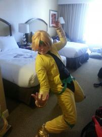Dio Brando from Jojo's Bizarre Adventure worn by Hokaido Planet