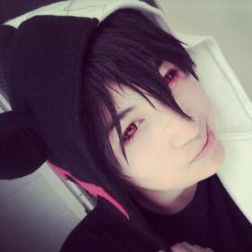 Monobear from Dangan Ronpa worn by Hokaido Planet