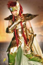 Aquarius Camus from Saint Seiya worn by Hokaido Planet