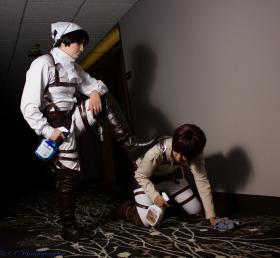 Levi from Attack on Titan worn by Hokaido Planet