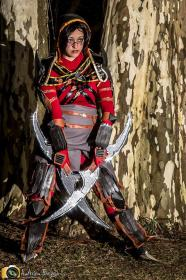 Hawke from Dragon Age 2 worn by JessValkyrie
