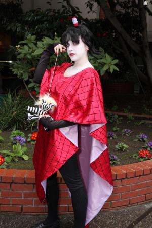 Lydia Deetz from Beetlejuice worn by Eeyora