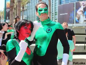 Soranik Natu from Green Lantern worn by Kurisuchie