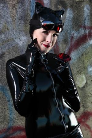 Catwoman from Batman worn by Eeyora