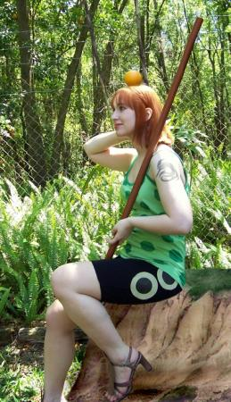 Nami from One Piece worn by fin fish