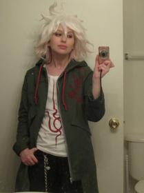 Nagito Komaeda from Super Dangan Ronpa 2 by fin fish
