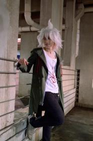Nagito Komaeda from Super Dangan Ronpa 2 worn by fin fish