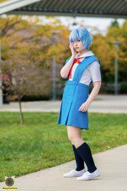 Rei Ayanami from Neon Genesis Evangelion worn by fin fish