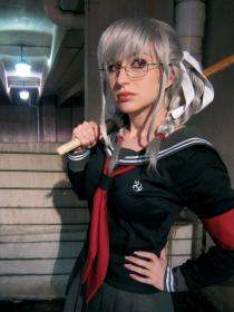 Peko Pekoyama from Super Dangan Ronpa 2 worn by fin fish