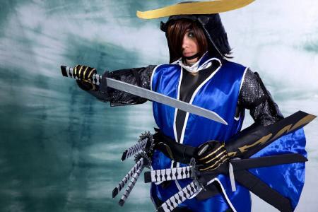 Date Masamune from Sengoku Basara worn by LovelessXSpirit