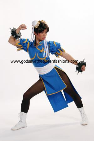 Chun Li from Street Fighter II