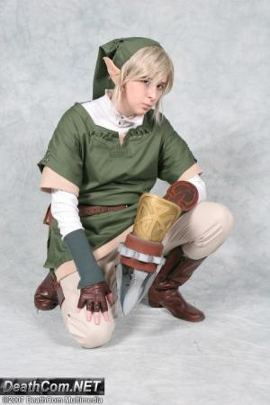 Link from Legend of Zelda worn by Patches