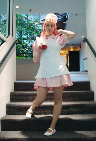 Nurse Joy from Pokemon worn by Patches