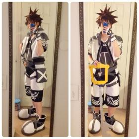 Sora from Kingdom Hearts 2 worn by Patches