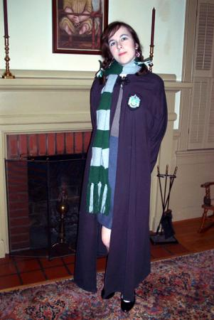 Slytherin Student from Harry Potter worn by Kara Dennison
