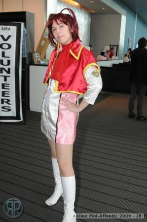 Mikoto Utsugi from GaoGaiGar worn by Kara Dennison