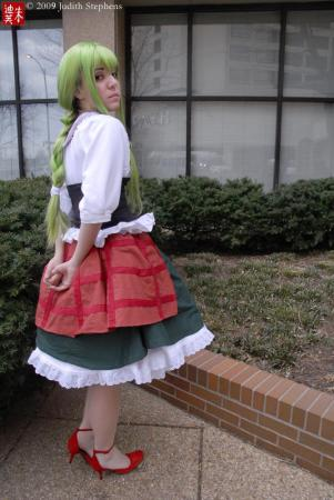C.C. from Code Geass R2 worn by Peachberri