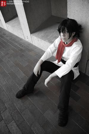 Setsuna F Seiei from Mobile Suit Gundam 00 worn by Peachberri