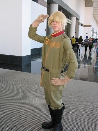 Bernard Wiseman from Mobile Suit Gundam 0080: War in the Pocket worn by Relena Warcraft