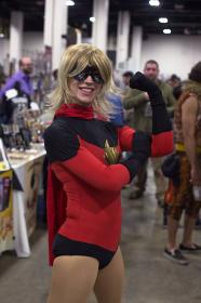 Ms. Marvel from Marvel Comics worn by Relena Warcraft