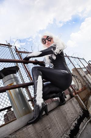 Black Cat from Spider-man worn by Usa_ko