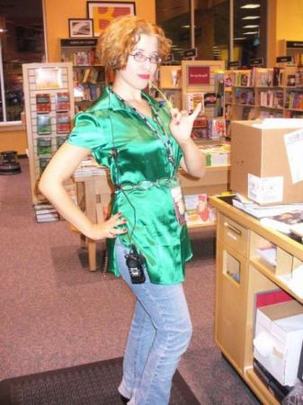 Rita Skeeter from Harry Potter worn by rhaps0die