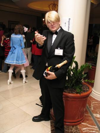 Sanji from One Piece worn by Captain Wakusei Prince