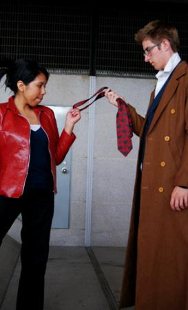 Martha Jones from Doctor Who worn by Vicksta